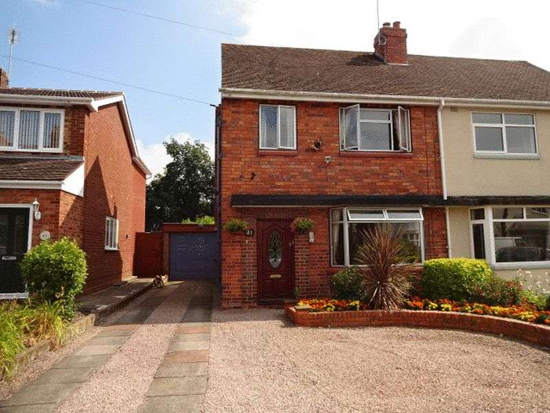 3 Bedrooms Semi Detached House for sale in Batham Road, Kidderminster dy10 2tw