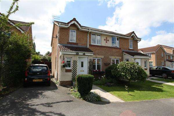 3 Bedrooms Semi Detached House for sale in Greendale Drive, Radcliffe