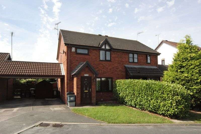 3 Bedrooms Semi Detached House for sale in Rydal Close, Little Neston, Wirral