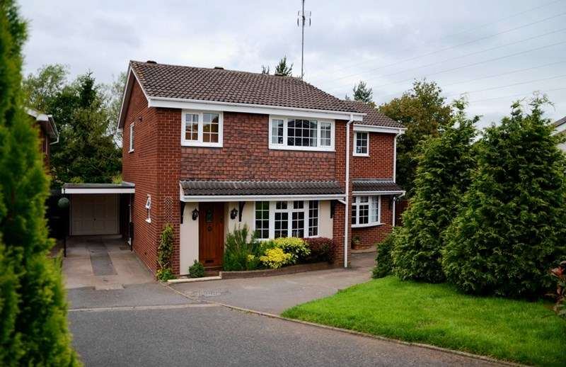 4 Bedrooms Detached House for sale in Alderdale Avenue, Dudley