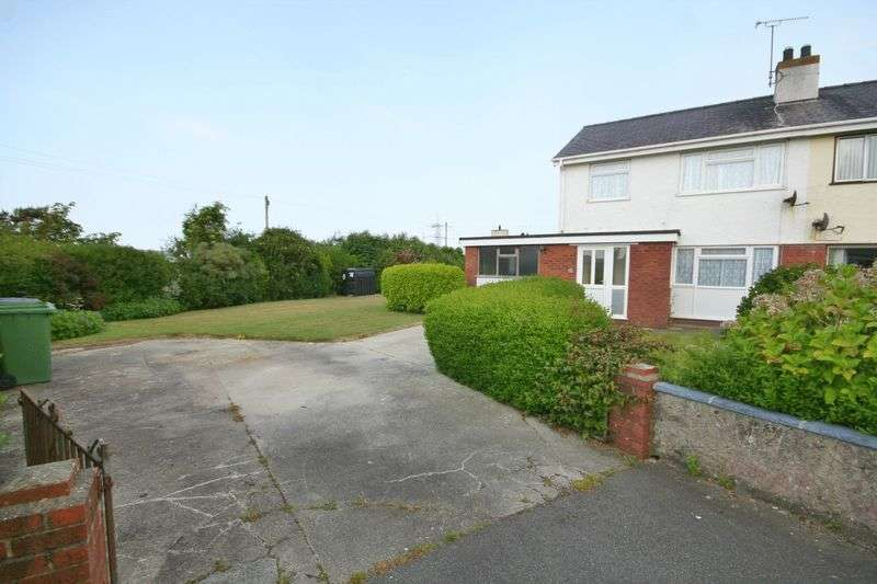 3 Bedrooms Semi Detached House for sale in Cae Garnedd Estate, Cemaes Bay