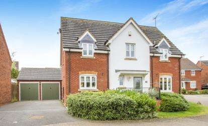 4 Bedrooms Detached House for sale in Fairway Meadows, Ullesthorpe, Lutterworth, Leicestershire