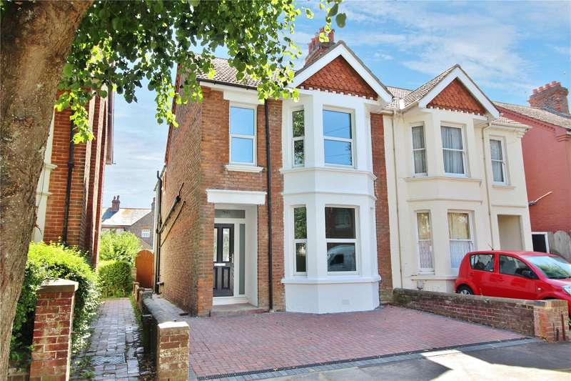 3 Bedrooms Semi Detached House for sale in Kingsland Road, Broadwater, Worthing, BN14