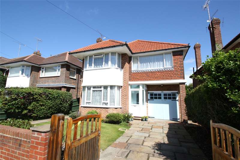 4 Bedrooms Detached House for sale in Southview Drive, West Worthing, West Sussex, BN11