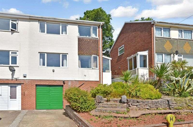 3 Bedrooms Semi Detached House for sale in Shelley Avenue, St Marychurch, Torquay