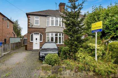3 Bedrooms Semi Detached House for sale in Wilsthorpe Road, Chaddesden, Derby, Derbyshire