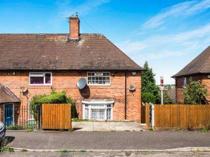3 Bedrooms End Of Terrace House for sale in Raymede Drive, Bestwood, Nottinghamshire