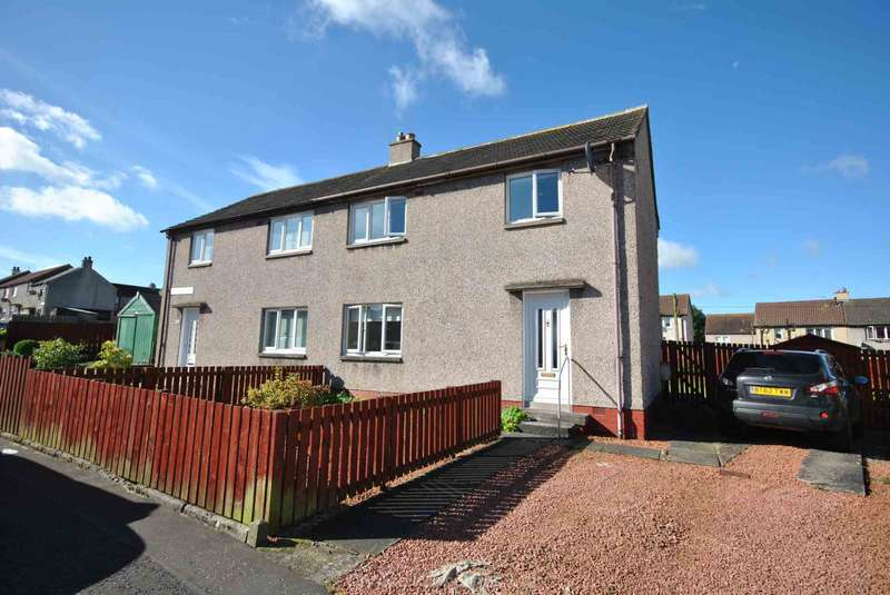 3 Bedrooms Semi Detached House for sale in Cromdale Road, Kilmarnock, KA1 3RJ