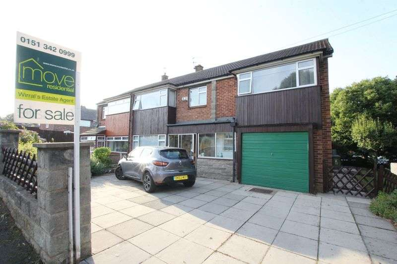 5 Bedrooms Semi Detached House for sale in Old Meadow Road, Pensby, Wirral