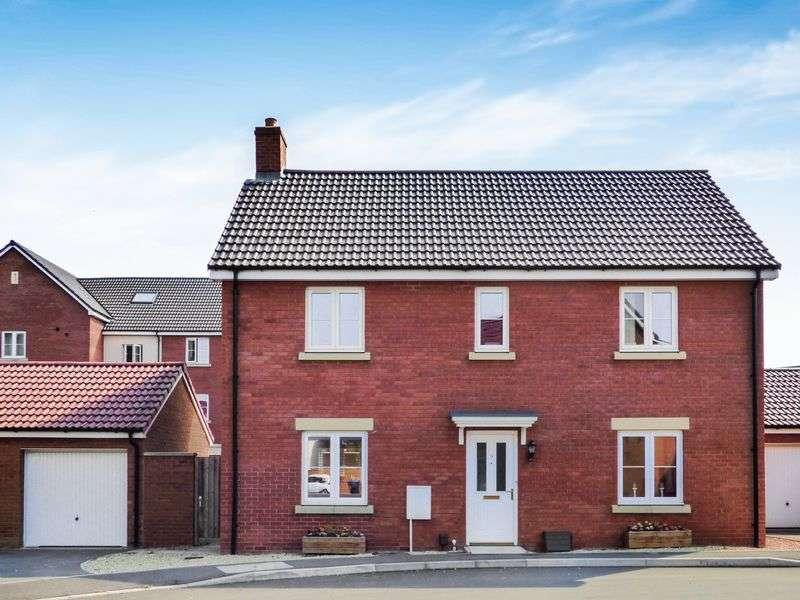 4 Bedrooms Detached House for sale in Gundy Grove, Trowbridge