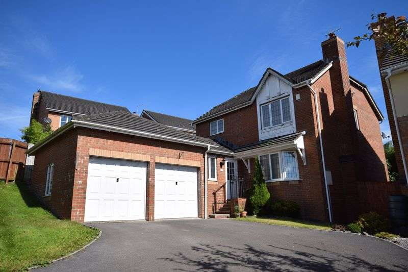 4 Bedrooms Detached House for sale in 12 Esgair-y-Maes, Broadlands, Bridgend CF31 5BL