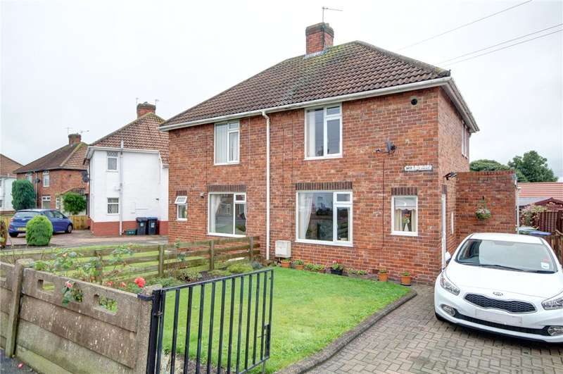 2 Bedrooms Semi Detached House for sale in Mill Lane, Sherburn Village, Durham, DH6
