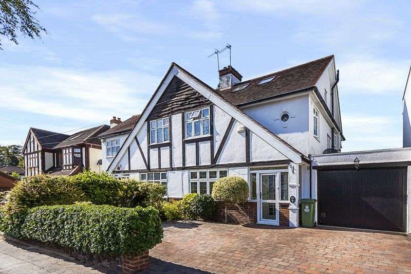 4 Bedrooms Semi Detached House for sale in Martin Dene, Bexleyheath