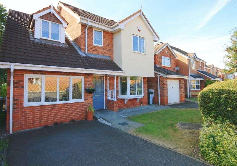 4 Bedrooms Detached House for sale in DEWCHURCH DRIVE, SUNNYHILL