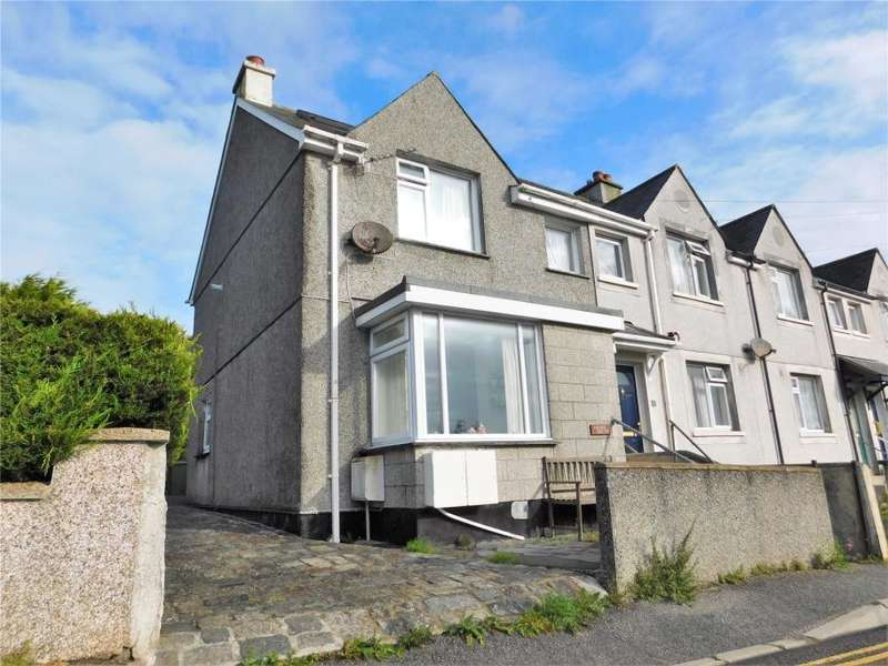 2 Bedrooms End Of Terrace House for sale in Tregwary Road, St Ives