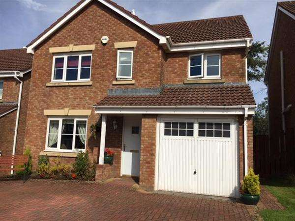 4 Bedrooms Detached House for sale in Strathallan Wynd, Hairmyres, East Kilbride