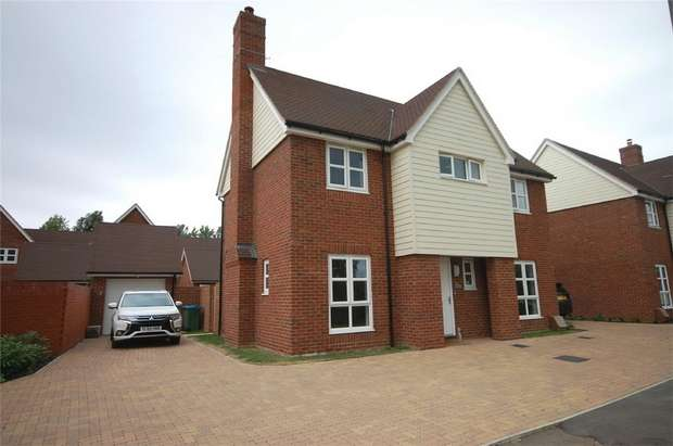 4 Bedrooms Detached House for sale in Canalside, Aylesbury, Buckinghamshire