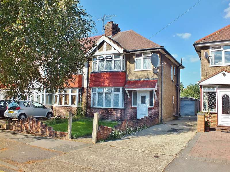 3 Bedrooms Semi Detached House for sale in Hayes Town, Middlesex