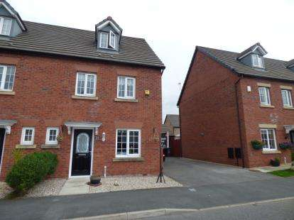 4 Bedrooms Semi Detached House for sale in Horton Close, Kirkby, Liverpool, Merseyside, L33