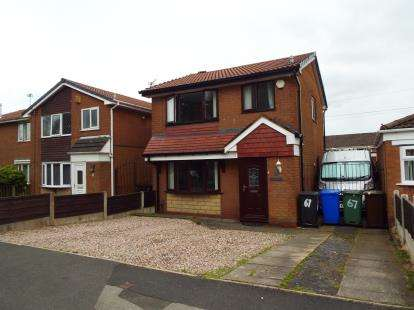 3 Bedrooms Detached House for sale in Harper Fold Road, Radcliffe, Manchester, Greater Manchester, M26