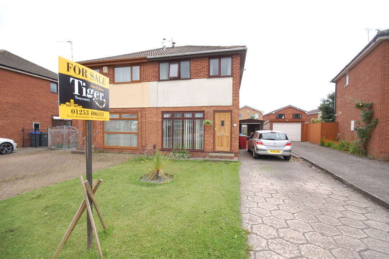 2 Bedrooms Semi Detached House for sale in Gordale Close, Blackpool