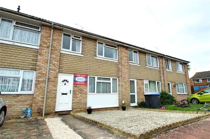 3 Bedrooms Terraced House for sale in Wear Close, Durrington, Worthing, BN13