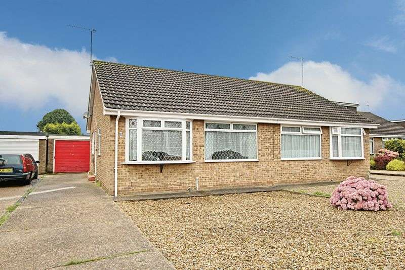 2 Bedrooms Semi Detached Bungalow for sale in Elm Tree Avenue, Thorngumbald