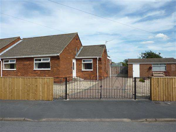 2 Bedrooms Semi Detached Bungalow for sale in CHARLES AVENUE, LACEBY, GRIMSBY