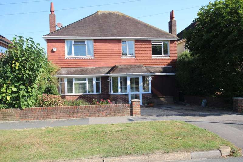 4 Bedrooms Detached House for sale in Meadows Road, Eastbourne, BN22 0NF