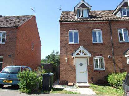 3 Bedrooms Semi Detached House for sale in Darwin Crescent, Loughborough, Leicestershire
