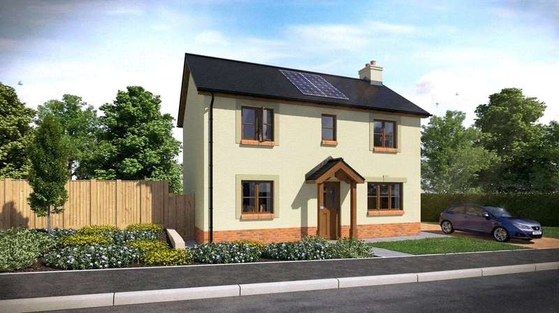3 Bedrooms Semi Detached House for sale in Plot 38, The Dale, Ashford Park, Crundale