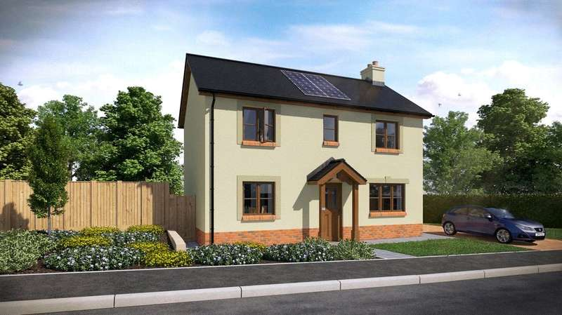 3 Bedrooms Semi Detached House for sale in Plot 34, The Dale, Ashford Park, Crundale