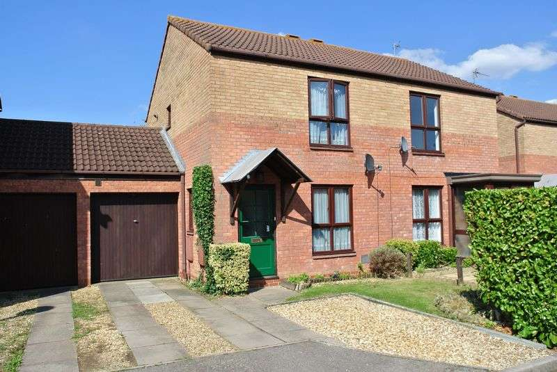 2 Bedrooms Semi Detached House for sale in Christian Court, Willen, Milton Keynes