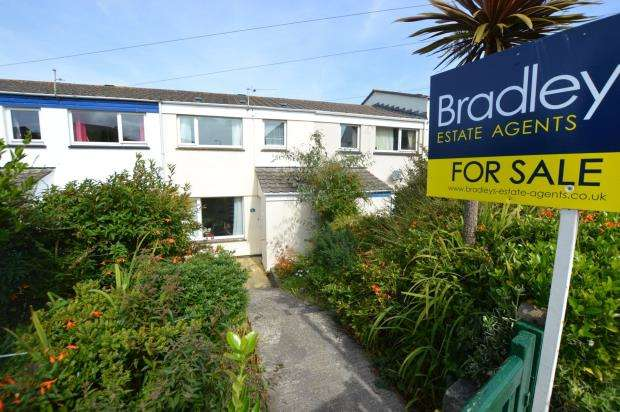 3 Bedrooms Terraced House for sale in Porthia Road, St Ives, Cornwall
