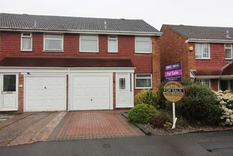 3 Bedrooms Semi Detached House for sale in Milcote Drive, Willenhall