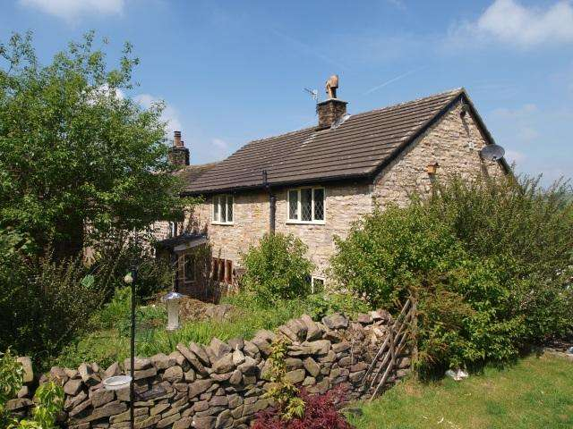 2 Bedrooms End Of Terrace House for sale in Dolly Lane, Buxworth, High Peak, Derbyshire, SK23 7QQ