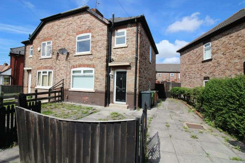 3 Bedrooms Semi Detached House for sale in Vaux Crescent, Bootle