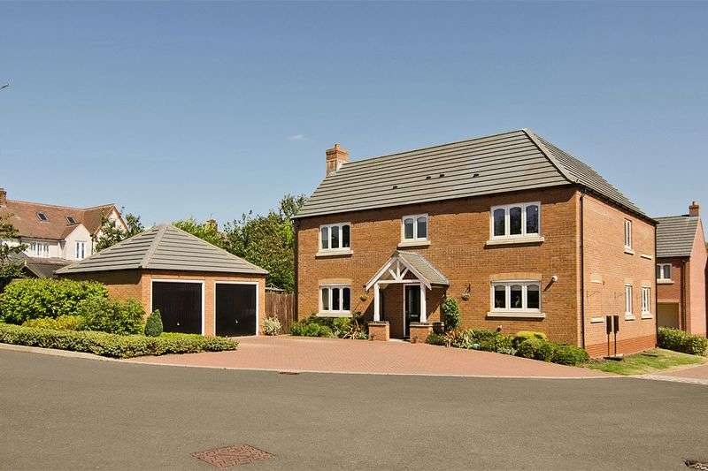 4 Bedrooms Detached House for sale in Villiers Gardens, Armitage, Rugeley