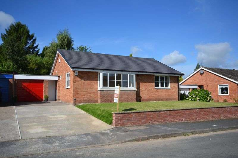 3 Bedrooms Detached Bungalow for sale in Burleigh Close, Tenbury Wells