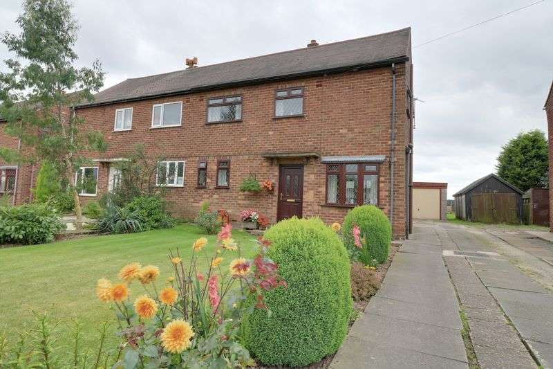 3 Bedrooms Semi Detached House for sale in Meredyke Road, Scunthorpe