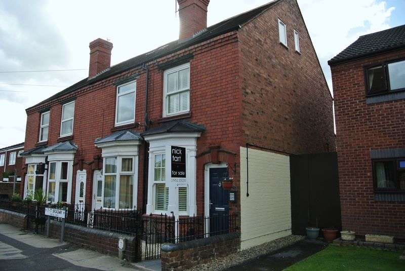 3 Bedrooms Terraced House for sale in Broadway, Shifnal, Shropshire.