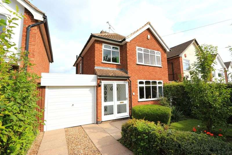 3 Bedrooms Detached House for sale in Court Close, Kirby Muxloe
