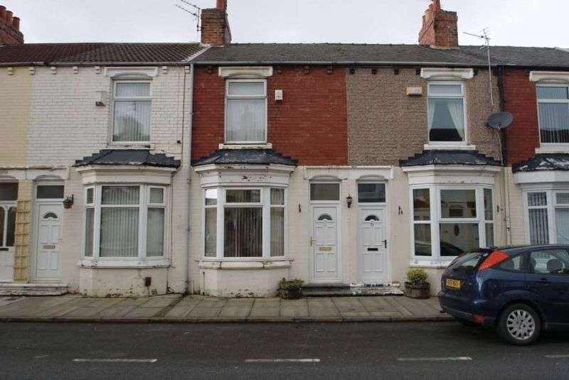 2 Bedrooms Terraced House for sale in Kildare Street TS1 4QY