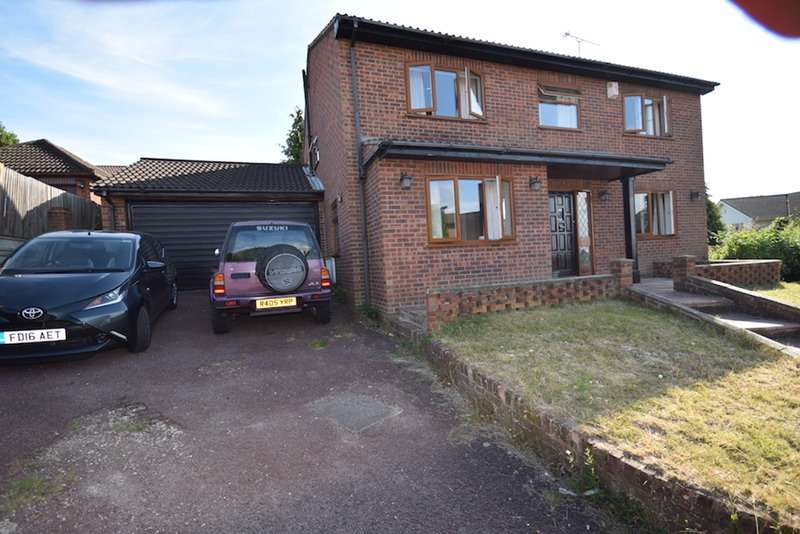 4 Bedrooms Detached House for sale in Ryegrass Close, Chatham, Kent, ME5
