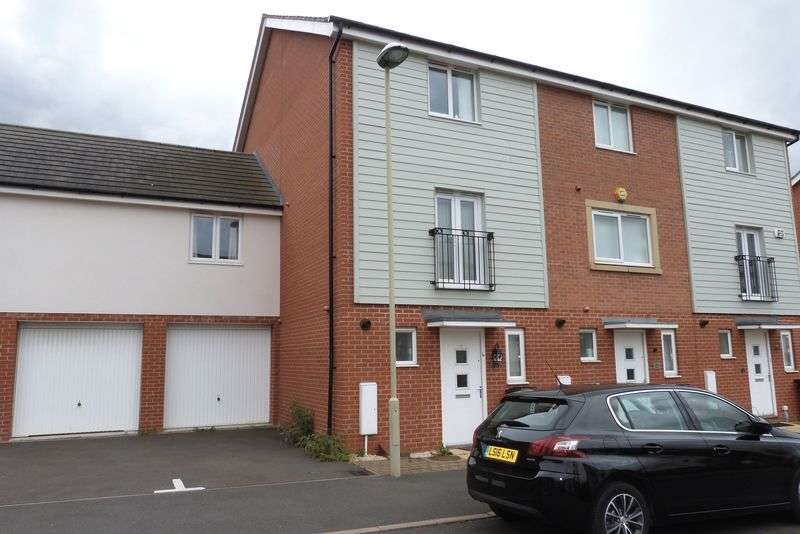 4 Bedrooms Terraced House for sale in Onyx Crescent, Leicester