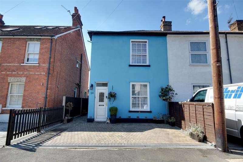 3 Bedrooms End Of Terrace House for sale in Victoria Road, Addlestone, Surrey, KT15