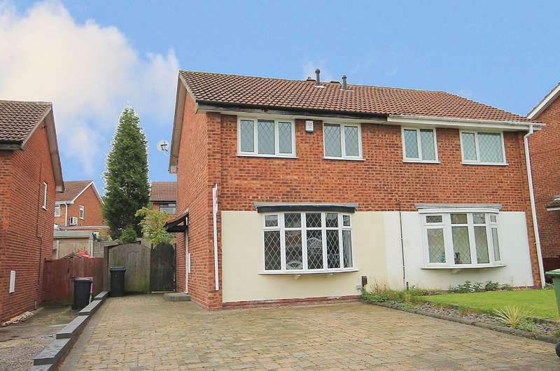 3 Bedrooms Semi Detached House for sale in Greenheart, Amington, Tamworth, B77 4NG