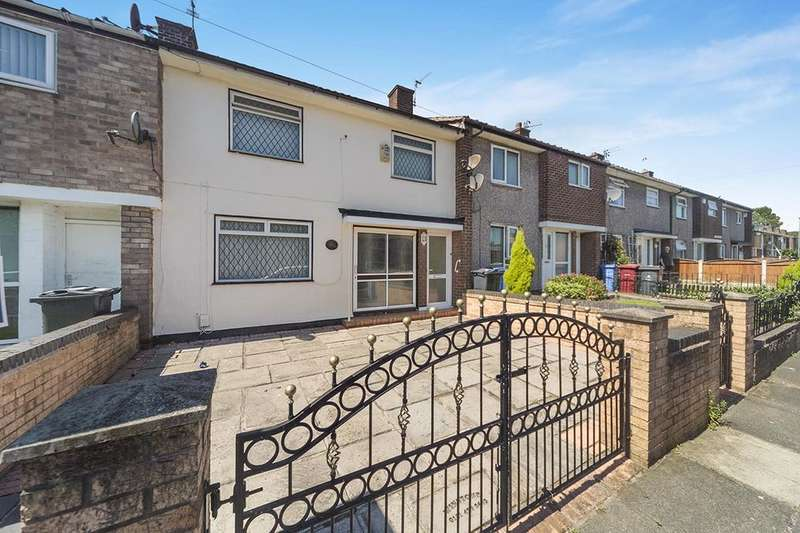 3 Bedrooms Property for sale in Paignton Close, Liverpool, L36