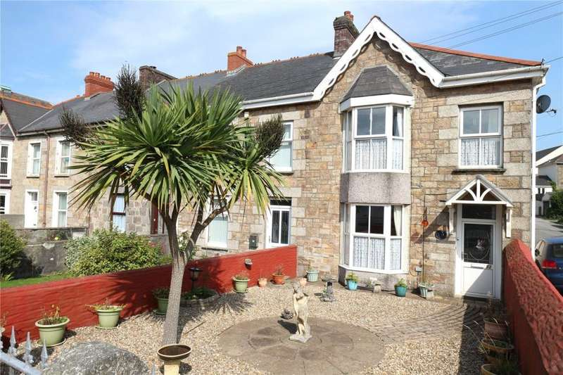 3 Bedrooms End Of Terrace House for sale in Chapel Road, Tuckingmill, Camborne