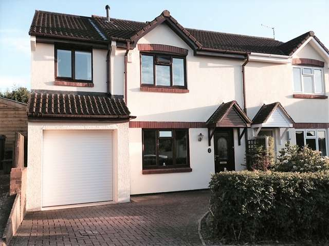 4 Bedrooms Semi Detached House for sale in Tweed Close, Honiton